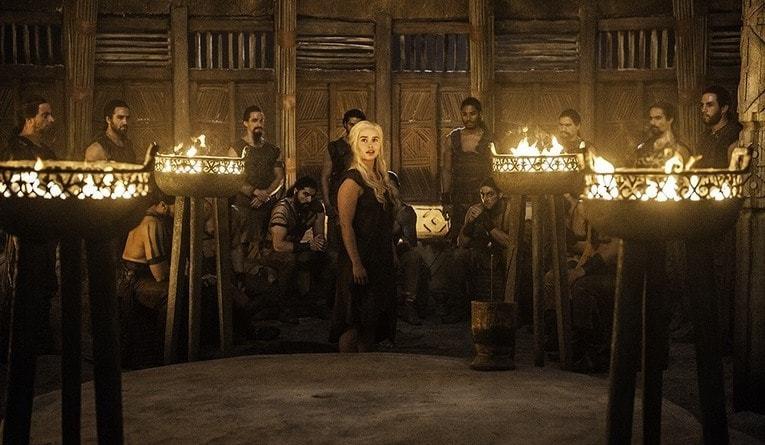 game of thrones book of the stranger review - daenerys targaryen emilia clarke-min