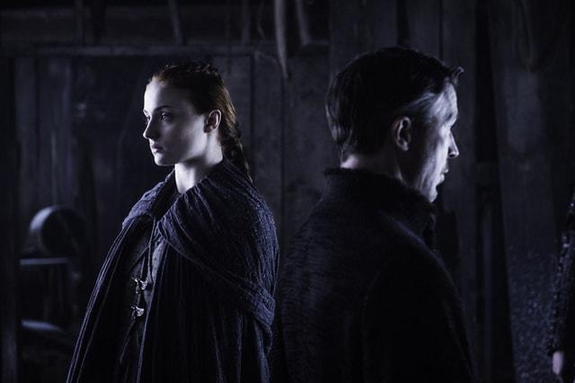 game of thrones - the door review -sansa and littlefinger-min