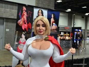 Awesome Con 2016 -Sofia Sivan as Power Girl posing