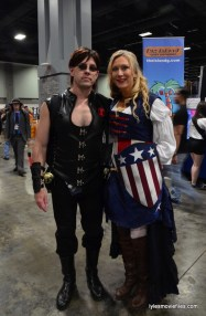 Awesome Con cosplay Day 2 -Black Widow and Captain America
