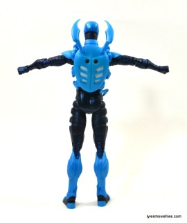 DC Icons Blue Beetle figure review -rear