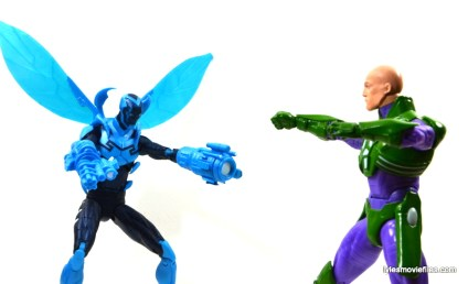 DC Icons Blue Beetle figure review -vs Lex Luthor