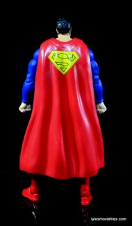 DC Icons Superman figure review -rear