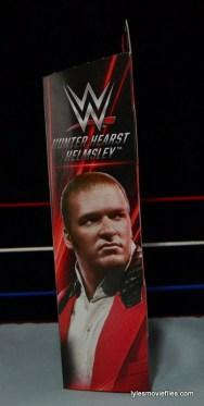 Hunter Hearst Helmsley WWE Network Spotlight figure -package side