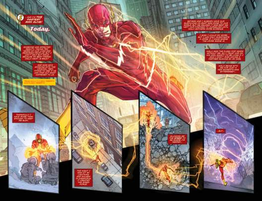 The Flash review issue 1 pg_4-5