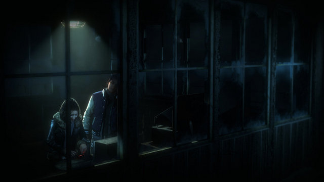 Until Dawn review - Emily and Matt