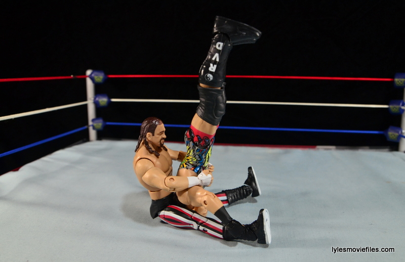 WWE Elite 41 Terry Funk figure review -piledriver to RVD