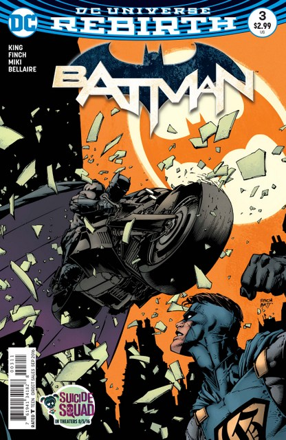 Batman issue 3 cover