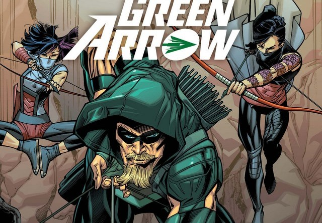 Green Arrow issue 3 variant cover