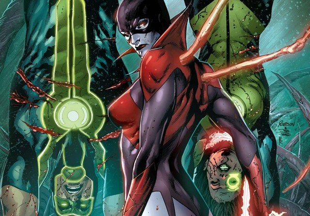 Green Lanterns issue 2 Rage Planet cover