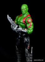 Guardians of the Galaxy Marvel Legends exclusive -Drax side with blades