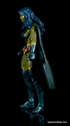 Guardians of the Galaxy Marvel Legends exclusive -Gamora left side