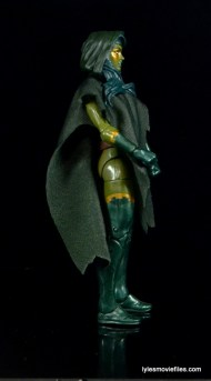 Guardians of the Galaxy Marvel Legends exclusive -Gamora with poncho right side