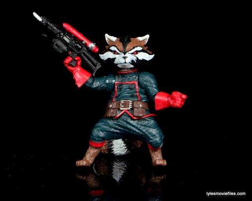 Guardians of the Galaxy Marvel Legends exclusive -Rocket with rocket gun