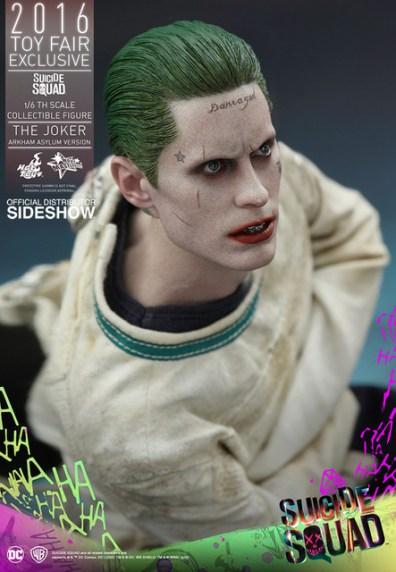 Hot Toys The Joker Arkham Asylum version - tattoo closeup