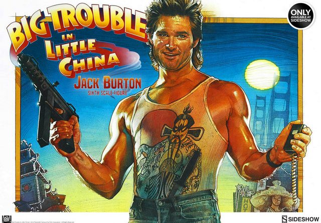 Jack Burton-Big Trouble in Little China figure preview