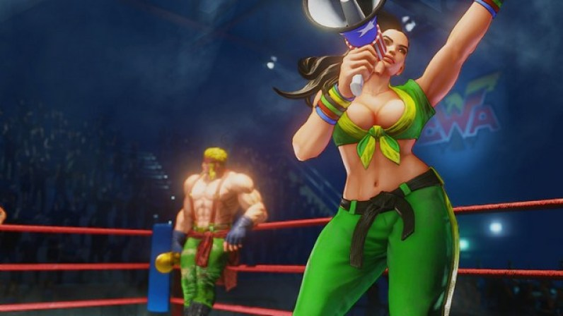 Street Fighter 5 - A Shadow Falls - Alex and Laura