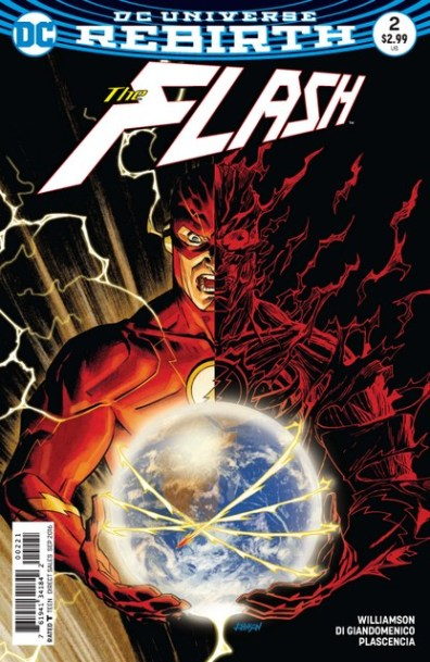 The Flash issue 2 variant cover
