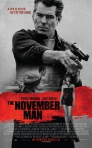 The November Man movie poster
