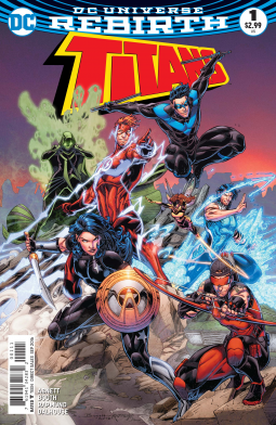 Titans issue 1 cover