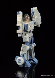 Transformers Masterpiece Bumblebee review -Spike right side