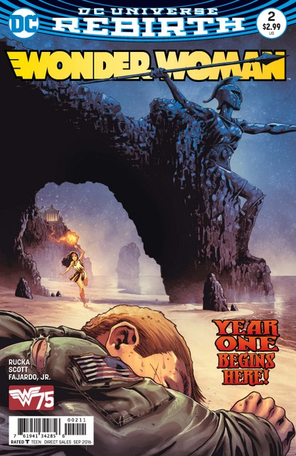 Wonder Woman issue 2 Year One Part 1 cover