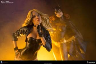 dc-comics-black-canary-premium-format-figure-with Batgirl