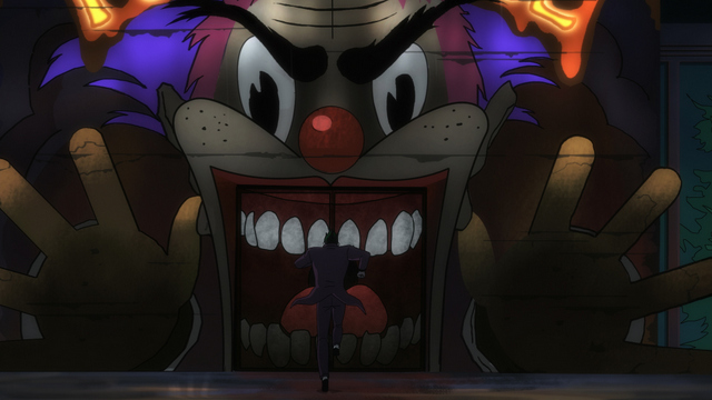 Batman The Killing Joke review - The Joker in funhouse