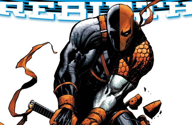 Deathstroke Rebirth issue 1 review variant cover