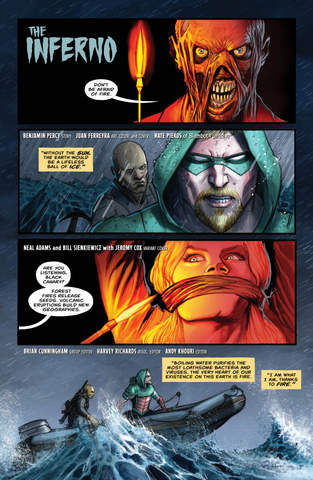 Green Arrow #5 review Inferno -page 1