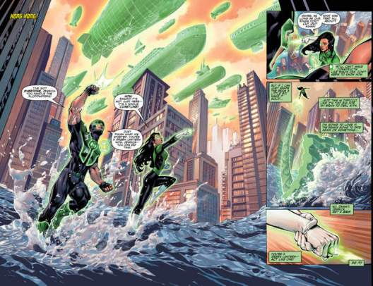 Justice League issue 2 Extinction Machines pages_2-3