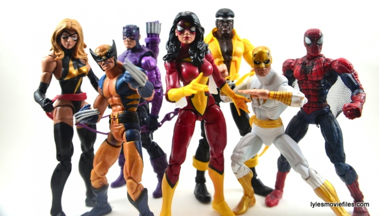 Marvel Legends Spider-Woman figure review - New Avengers