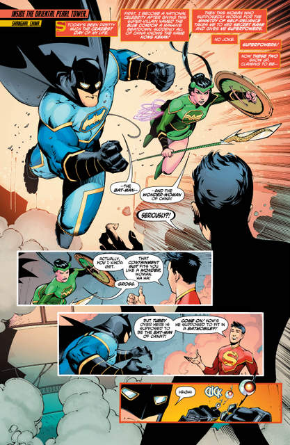 New Super-Man #2 review page 2