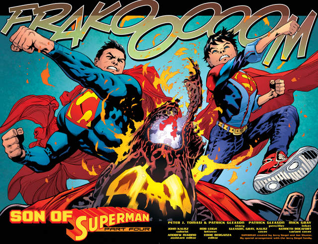 Superman issue 4 Son of Superman pages_4-5