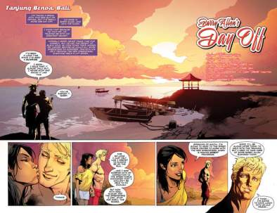 The Flash #5 review - pages 2 and 3