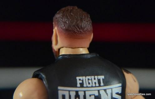WWE Elite 43 Kevin Owens figure review - hair fade paint job