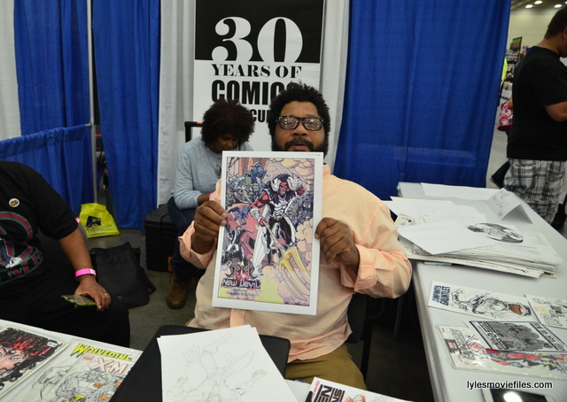 Baltimore Comic Con 2016 - Paris Cullins