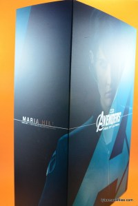 Hot Toys Maria Hill figure -package wide
