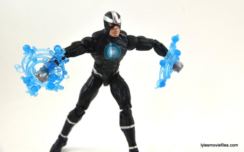 Marvel Legends Havok figure review -arms charging
