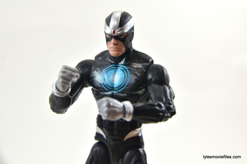 Marvel Legends Havok figure review - paint detail