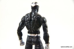 Marvel Legends Havok figure review -rear paint detail
