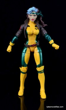 Marvel Legends Rogue figure review - straight