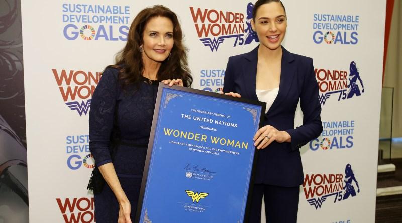 Gal Gadot and Lynda Carter team up to honor Wonder Woman's ambassador status