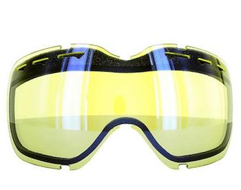 スノーボードのゴーグルのレンズの色の種類や特徴⑤:イエロー系