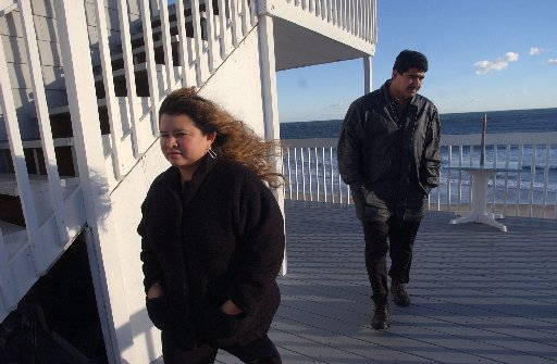 Debt has stretched Silvia and Isaias Reyes to the breaking point. Still, one cold afternoon in November, they drove from Pawtucket to Westerly to look at a time-share apartment that they couldn't afford. The Providence Journal / Gretchen Ertl