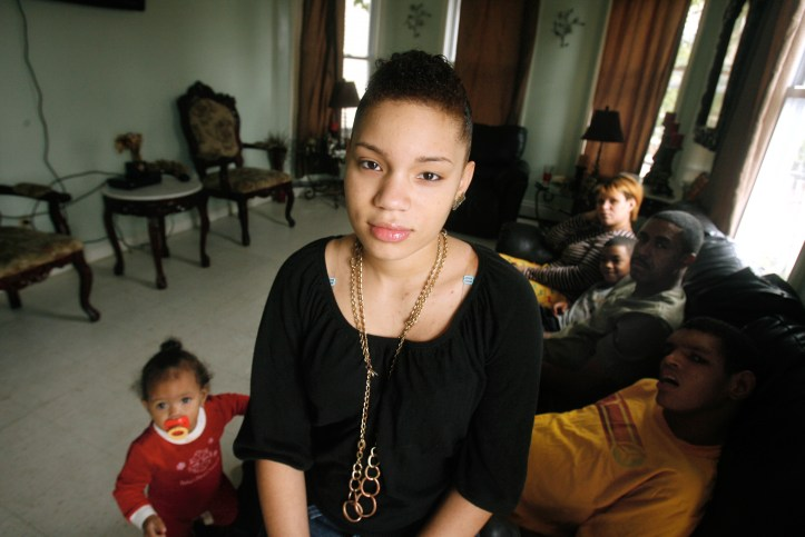 Anabel Pichardo was 14 and when she first saw the inside of a prison cell. Her crime was missing school. The Providence Journal/Kris Craig