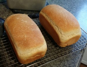 Baking bread - delicious!