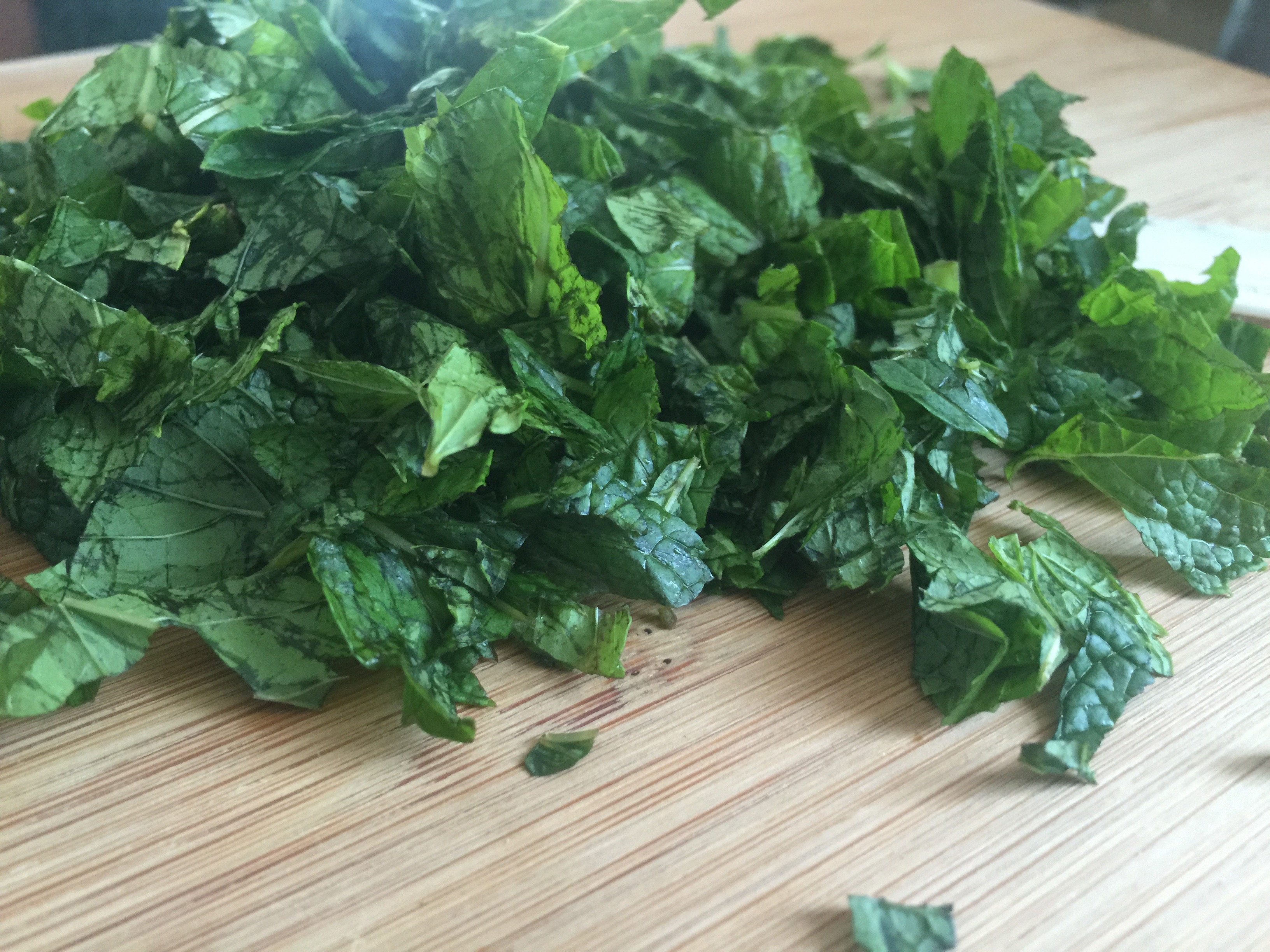 Be Well: Frozen Mint Leaves