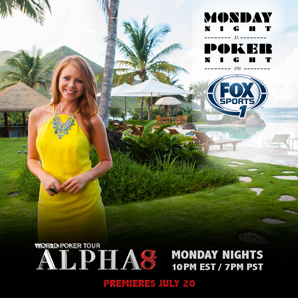 WPT Alpha8 Season II Premieres Monday!