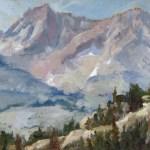 High Sierra Peaks 9x12 SOLD